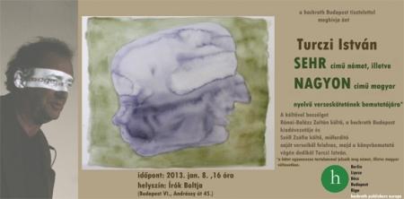 Turczi István - Nagyon - Sehr könyvbemutató