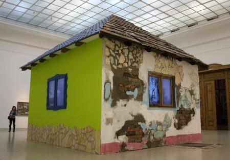 Ház, 2012, videoinstalláció
