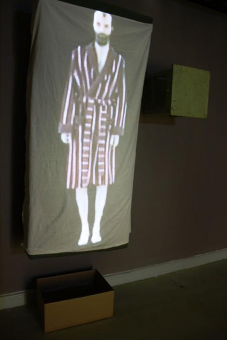 Istenem, 2011, videoinstalláció