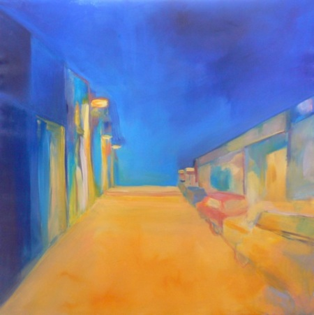 Kalas Zsuzsa: The blue sky over Dublin, 2012