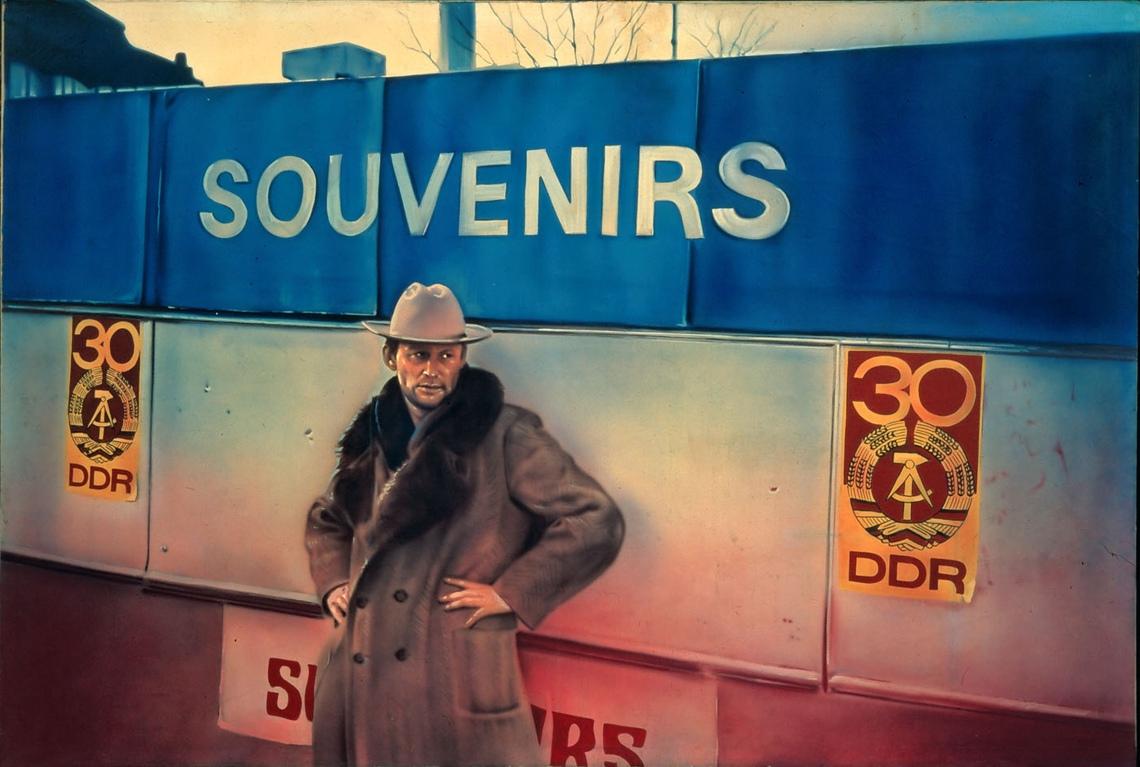 Cím nélkül a Kedves festő, fess nekem című sorozatból, 1981, fotó: magántulajdon © Estate Martin Kippenberger, Galerie Gisela Capitain, Köln