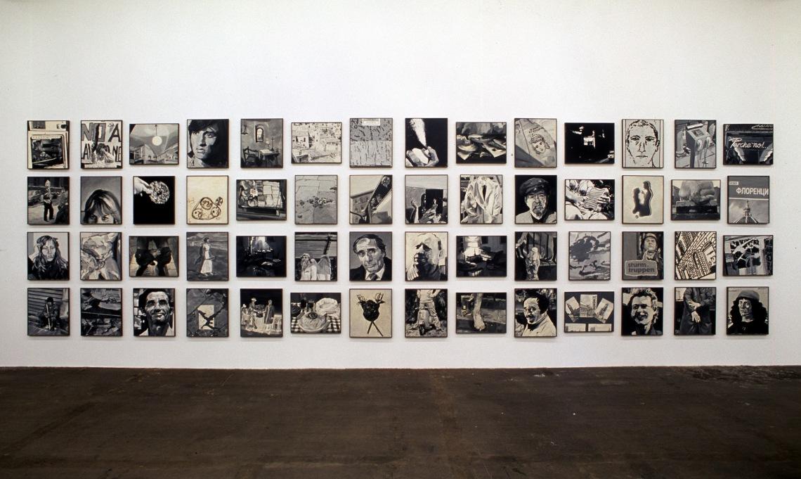 Egy közületek, egy német Firenzében, 1976–1977, fotó: Friedrich Christian Flick Collection im Hamburger Bahnhof © Estate Martin Kippenberger, Galerie Gisela Capitain, Köln