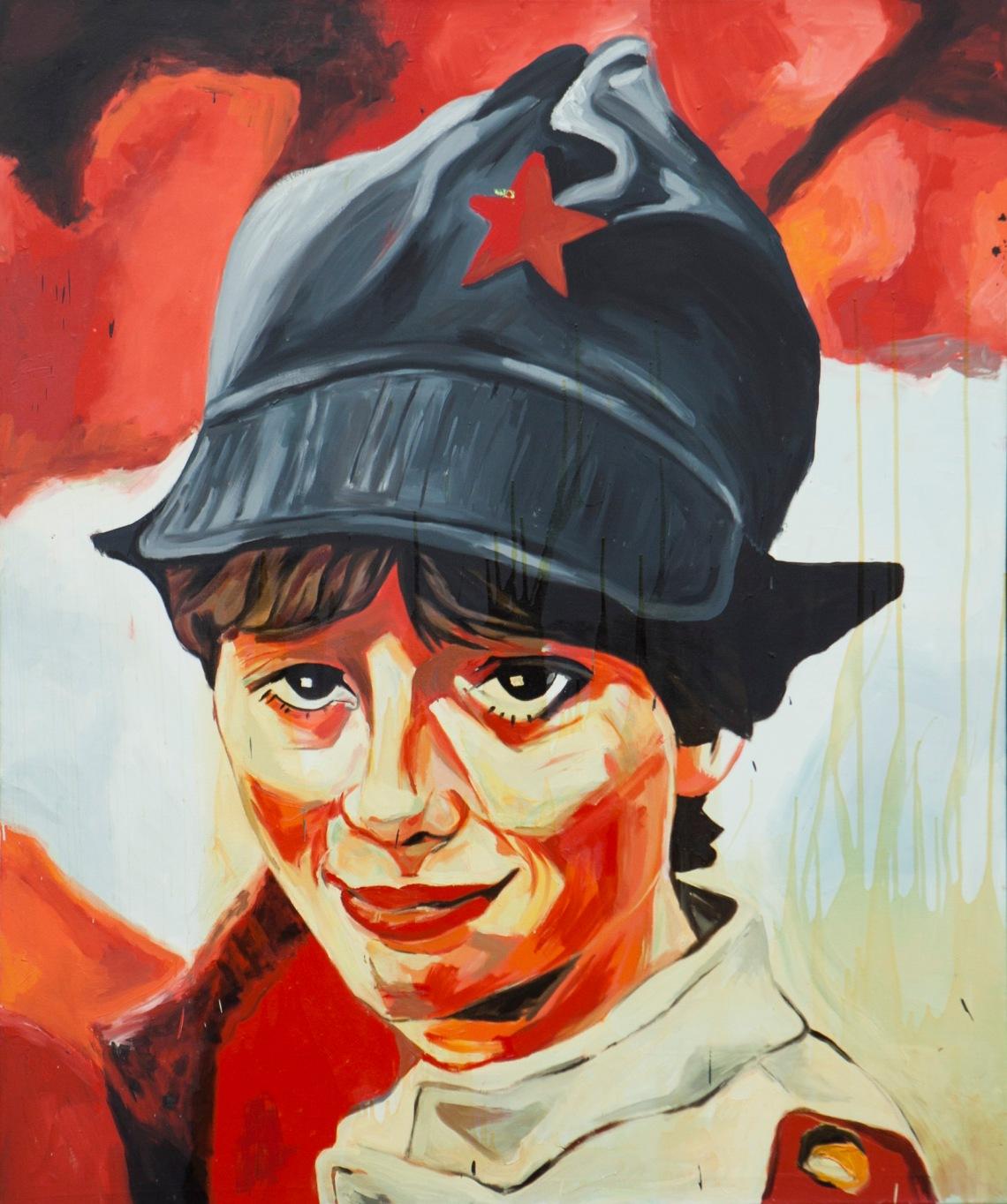 Szimpatikus kommunista, 1983, fotó: a szerző felvétele