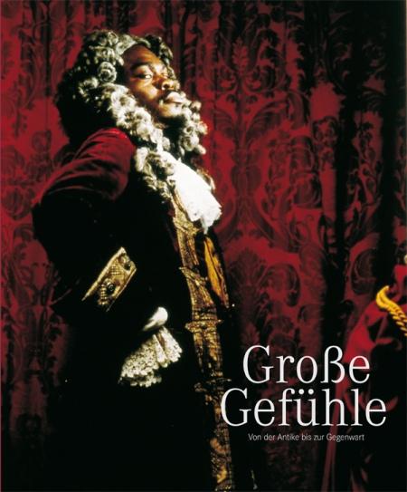 Große Gefühle(Yinka Shonibare: Untitled, 1997, forrás: http://www.vfmk.de/)