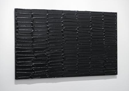 3. kép: Pierre Soulages: Peinture 137 x 222 cm, 30 mai 2012