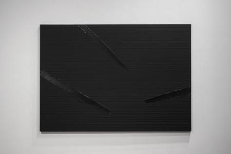 4. kép: Pierre Soulages: Peinture 157 x 222 cm, 28 février 2011, 2011
