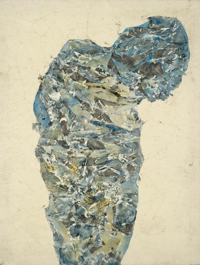 Hantaï Simon: Panse, 1965, 71 × 55 cm, Párizs, Galerie Jean Fournier