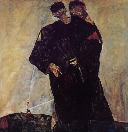 4. kép: Egon Schiele: Remeték, 1912
