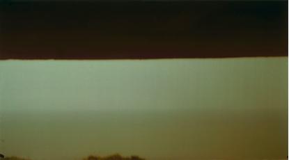 Ősz Gábor: Folyékony horizont No. 4, 1999, expozíciós idő: 6 óra 20 perc