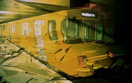 Szacsva y Pál: Reprojekció XXXV, 2002, C-print műanyagra kasírozva