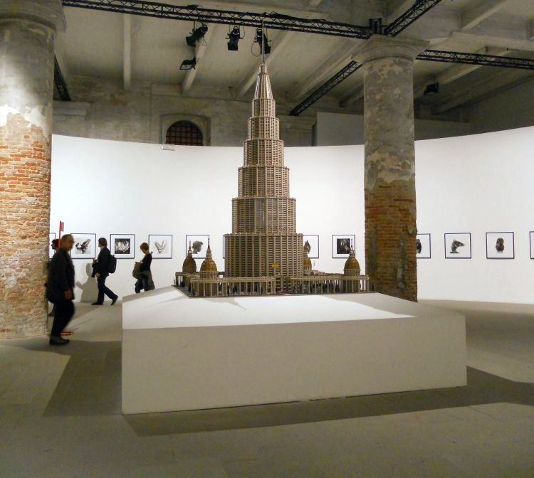 Marino Auriti: Il Encyclopedico Palazzo del Mondo, makett, 1950 körül, Arsenale