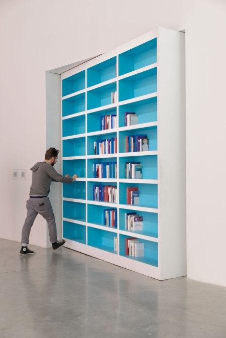 Dominique Gonzalez-Foerster, La Bibliothèque clandestine, 2013