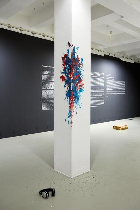 Navid Nuur kiállítása a Trafóban a REDBLUEREDBLUE gyurma- és hanginstallációval (2006–2014)