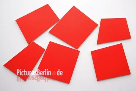 Imi Knoebel: Konstellation S. Cadmiumrot, 1985, kép forrása: http://www.picturesberlin.de/