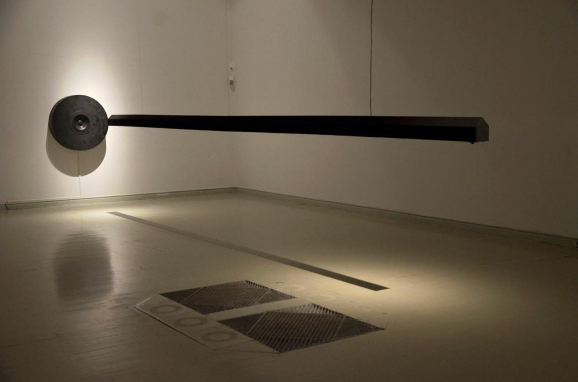 Várnai Gyula: A gondolat formája, 2001, fotó: Kővágó Nagy Imre, © Műcsarnok