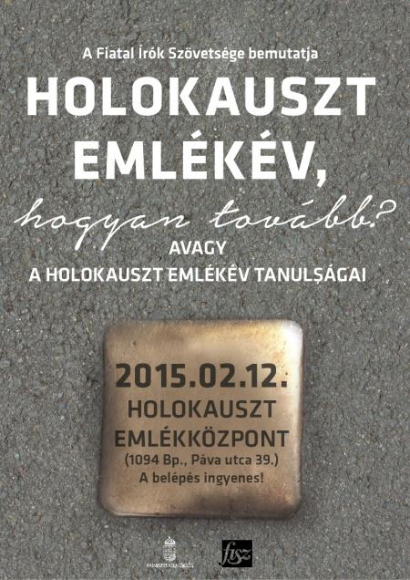 FISZ_HolokausztKonferencia_plakát