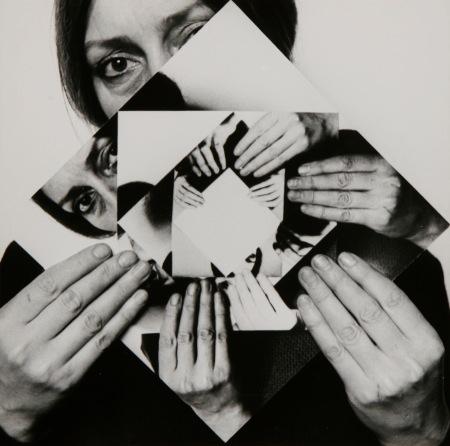 Maurer Dóra: Hét elforgatás, 1–6, 1979, hat zselatinos ezüst, egyenként 20 × 20 cm, Somlói Zsolt és Spengler Katalin gyűjteménye © Maurer Dóra