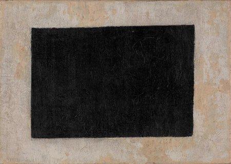Kazimir Malevics: Fekete négyszög,  1915 k., olaj, vászon, Szaloniki, Görög Állami Kortárs Művészeti Múzeum – Costakis Gyűjtemény