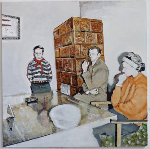 Nemes Csaba: Meghallgatás, 2010, fotó: Revizor Online