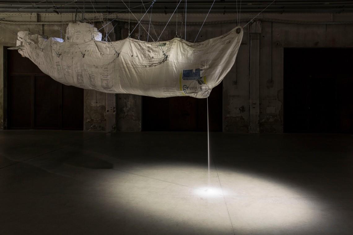 Damián Ortega: Hollow/Stuffed: Market Law, 2012