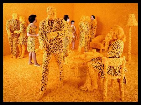 Sandy Skoglund: Koktélparti, 1992, kép forrása: pacicontemporaty.com