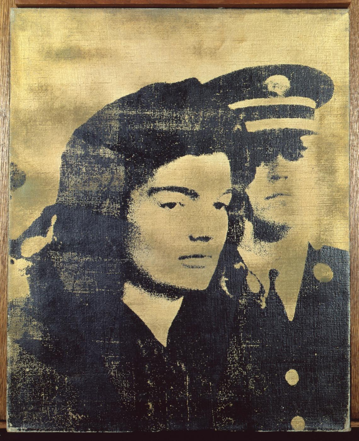 Jackie (Arany), 1964, szitanyomás, vászon, 51 × 41 cm, The Sonnabend Collection, New York