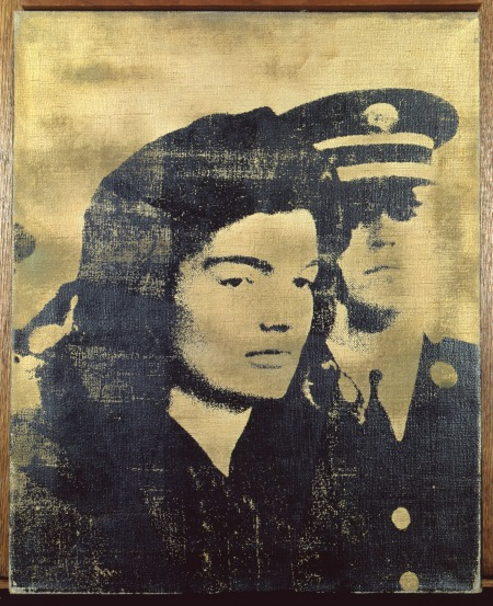 Jackie (Arany), 1964, szitanyomás, vászon, 51 × 41 cm, The Sonnabend Collection, New York