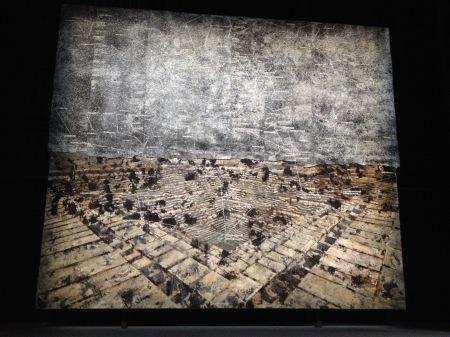 Anselm Kiefer: Jajpur, 2009, olaj, emulzió, akril, viasz, ólom, vászon, 660 × 760 cm