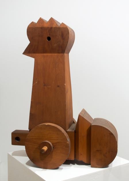 Schéner Mihály: Tölgyfapipike, fa, 76 × 59 cm (Békéscsaba, Meseház), fotó: Besenczi Richard