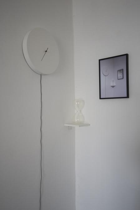 Az Add tovább... tereminstalláció részlete: Hardi Ágnes munkája