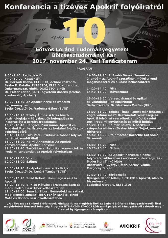 A konferencia programja