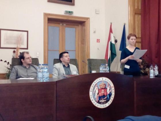 Füzi Péter, dr. Vaderna Gábor és Hangácsi Zsuzsanna