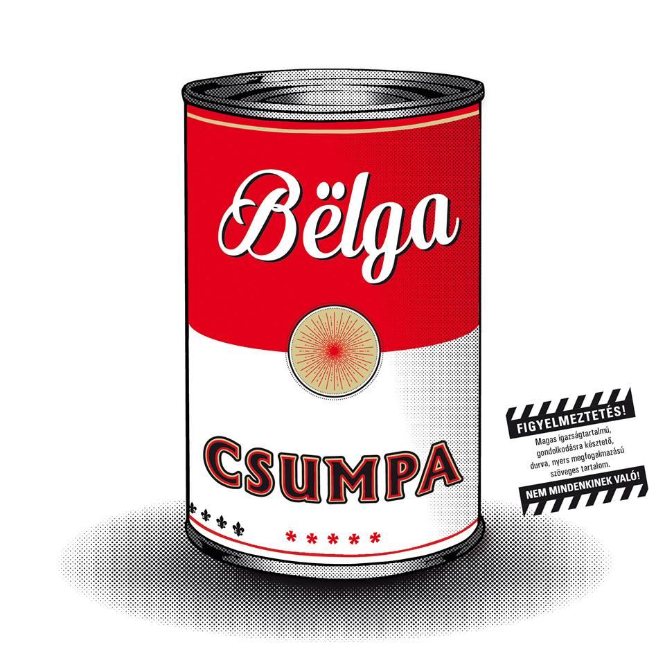 Bëlga: Csumpa (lemezborító)