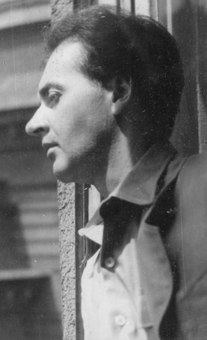 Mándy Iván 1956-ban (fotó: Lakatos István / PIM)