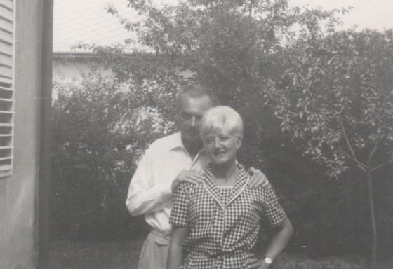 Mándy Iván és felesége, Simon Judit (fotó: PIM)
