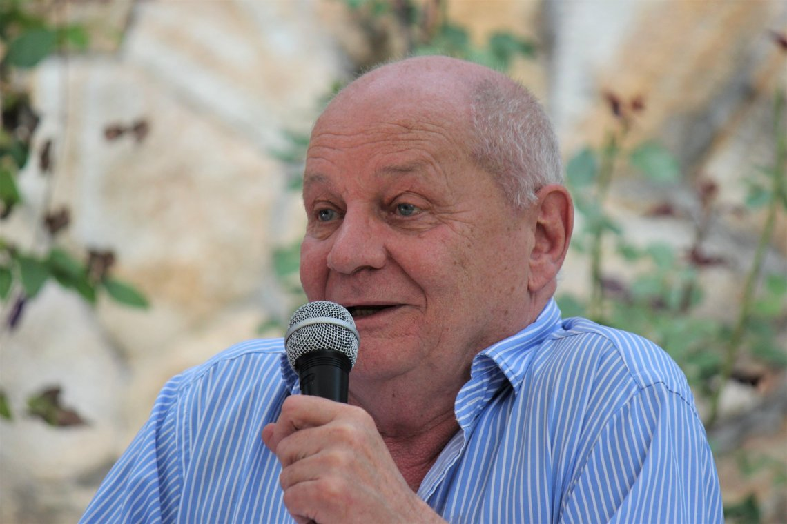 Bereményi Géza a FISZ-táborban